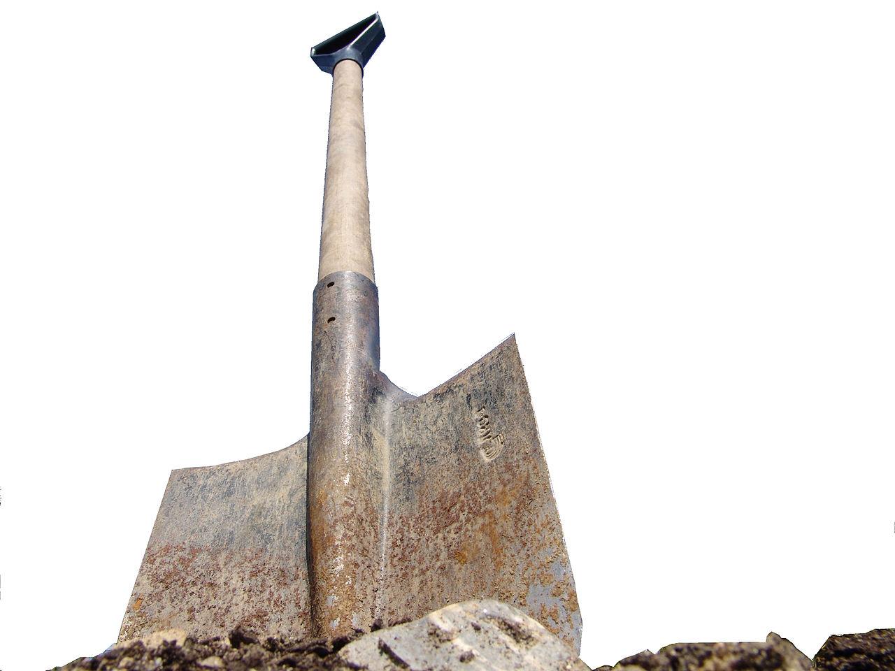 Folge des Baubooms: Bürgermeister können sich keine Spatenstichspaten mehr leisten.