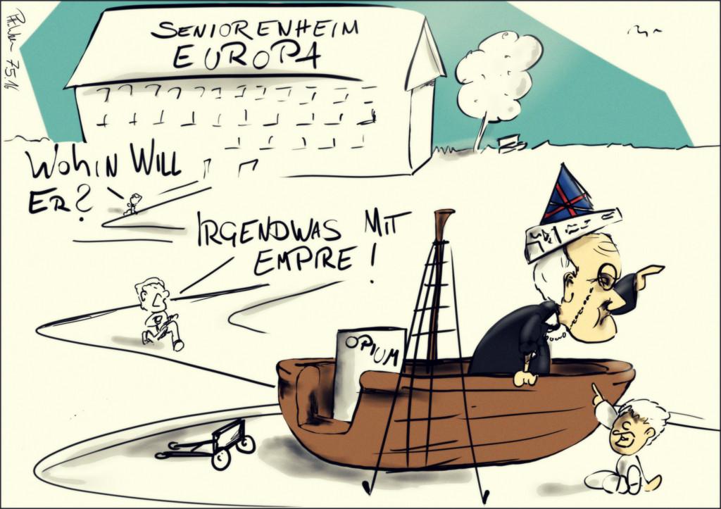 Karikatur: Brexit