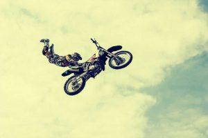Ein Motorradstund