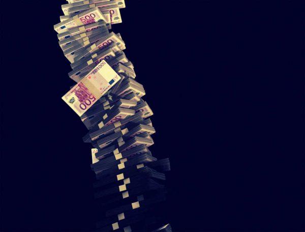 Ein Berg aus Geld