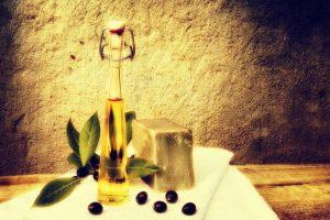 Seife mit Oliven