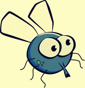 Clipart einer Fliege