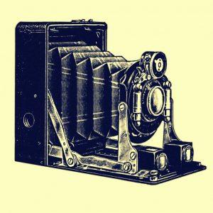 Eine alte Kamera