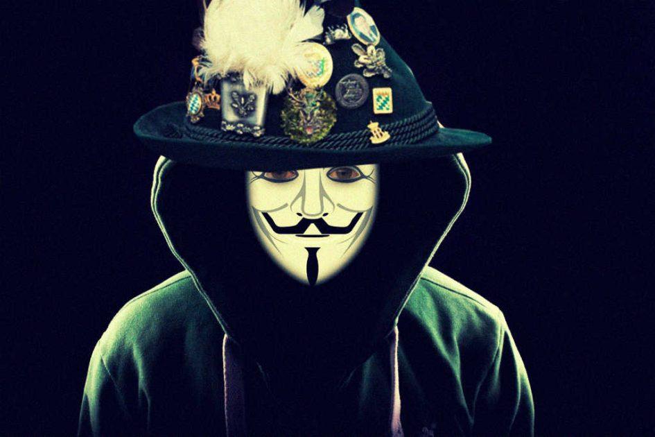 Symbolbild Haker mit Gamshut