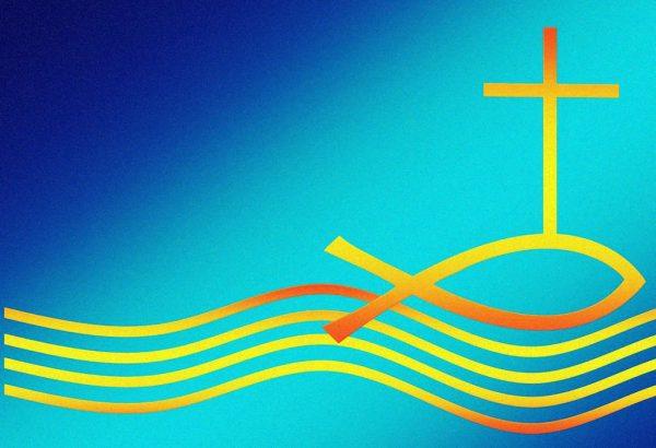 Fisch und Kreuz