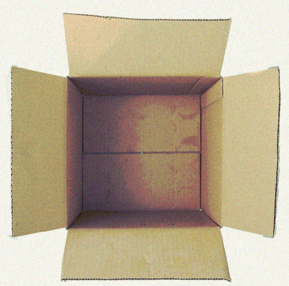 Ein leeres Paket