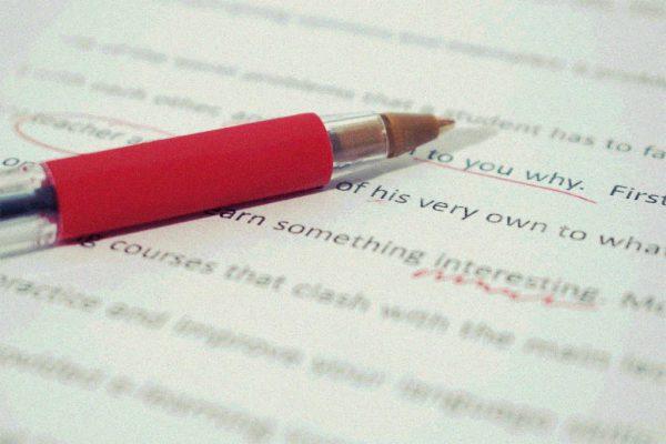 ein Stift und Papier