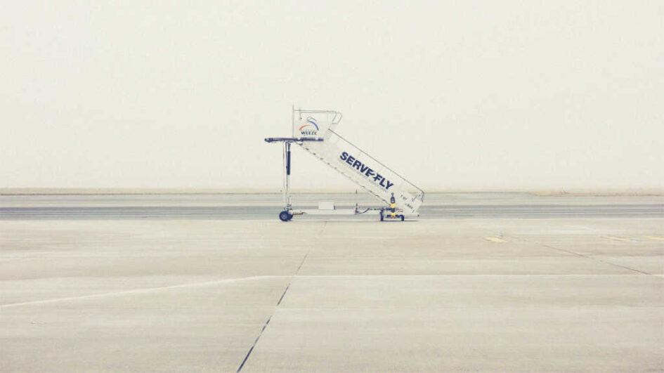 leerer Flughafen