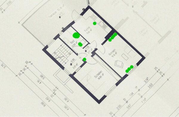 Wohnung Grundfläche